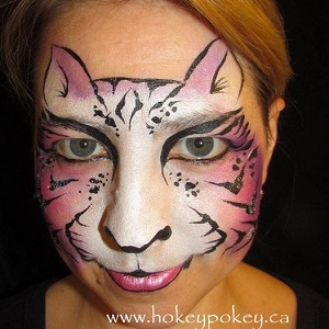 Face Painting Inspired by Christina Davidson