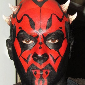 Darth Maul Face Painting