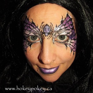 Halloween Face Painting Idea