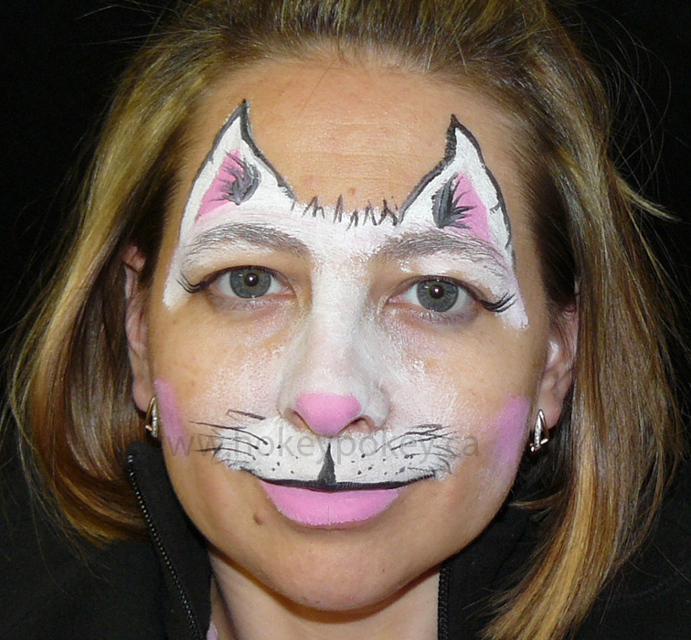 Cat makeup for kids